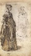 Albrecht Durer Two Venetian Ladies oil painting picture wholesale